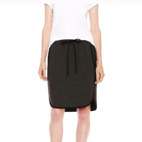 Joe Fresh Dresses & Skirts - Piped Varsity Comfy Gray Skirt